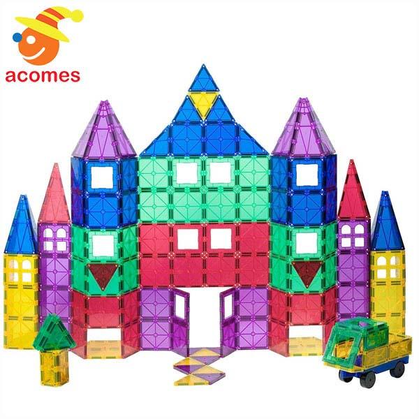 プレイマグス マグネット おもちゃ 磁石 積み木 100 パーツ 知育 玩具 ギフト プレゼント クリスマス お年賀 誕生日