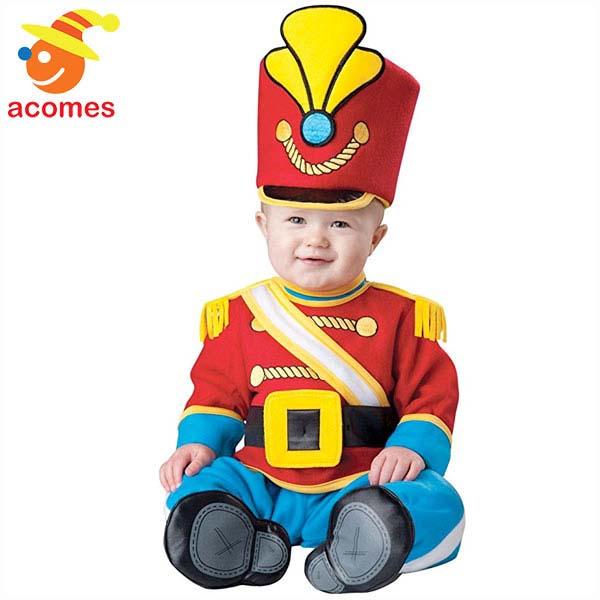 ベビー おもちゃの兵隊 衣装 赤ちゃん コスチューム クリスマス ハロウィン イベント パーティー 出産祝い 着ぐるみ