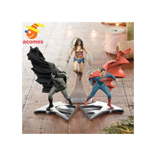 Birth of the Christmas tree decoration battement Wonder Woman superman Christmas ornament hero three points set decorations justice