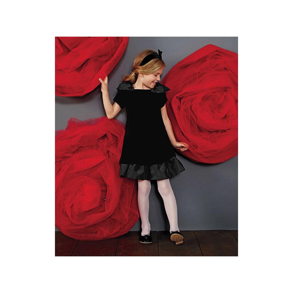 子供 ドレス ベルベット 高級 上質 黒 フリル ワンピース 女の子 発表会 衣装 フォーマル