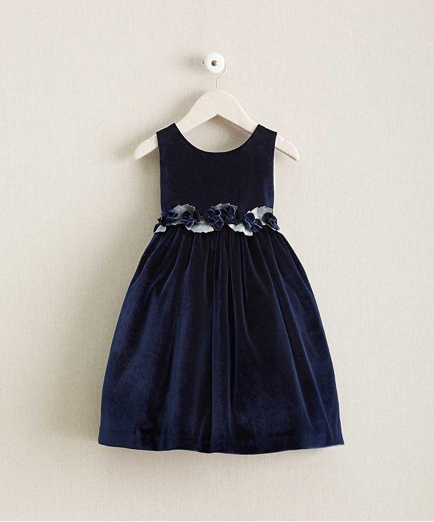 イザベルガレットン Isabel Garreton 子供 ドレス 高級 上質 濃紺 ノースリーブ ワンピース 女の子 発表会 衣装 フォーマル