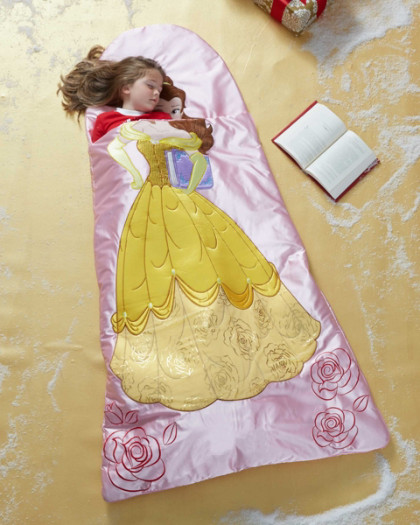 best website 08523 7c740 Bedclothing nursery interior for the child of the child interior sleeping  bag Beauty and the Beast bell Disney Princess goods woman