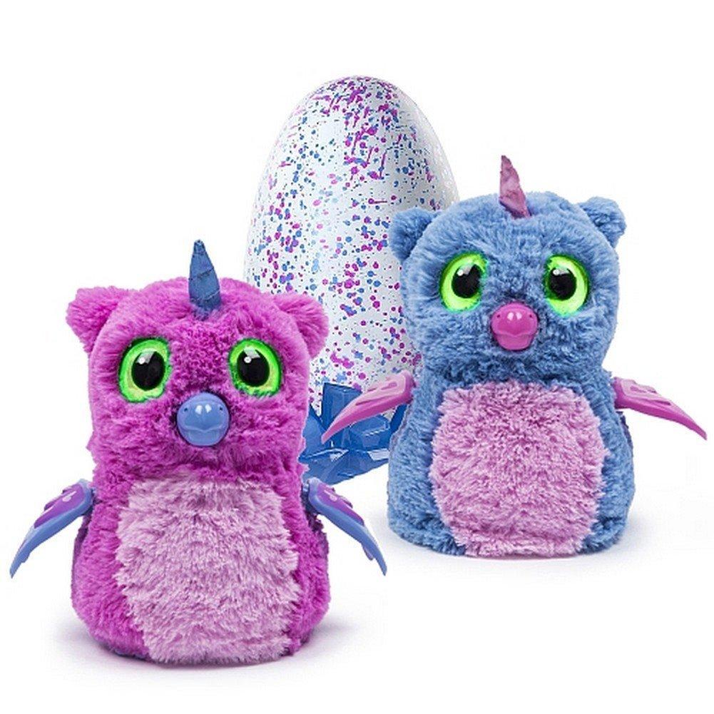 うまれて! ウーモ 海外版 ピンク 青 Hatchimals おもちゃ 孵化する 鳥 動物 ペット