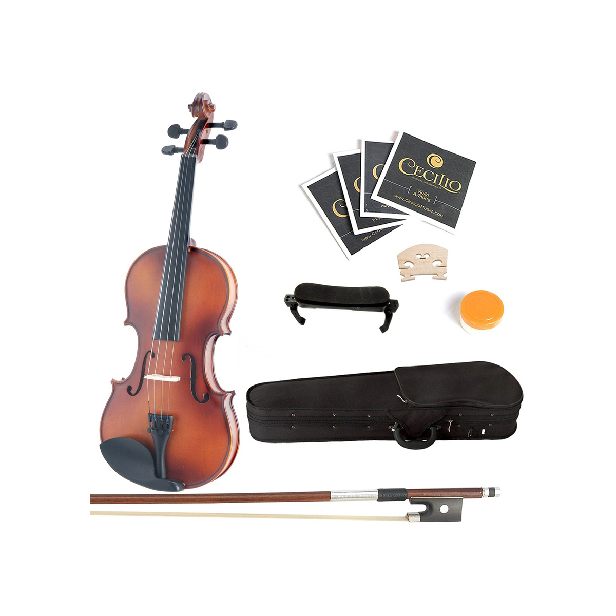 Mendini バイオリン MV300 フルサイズ 4/4 オーケストラ クラシック 楽器