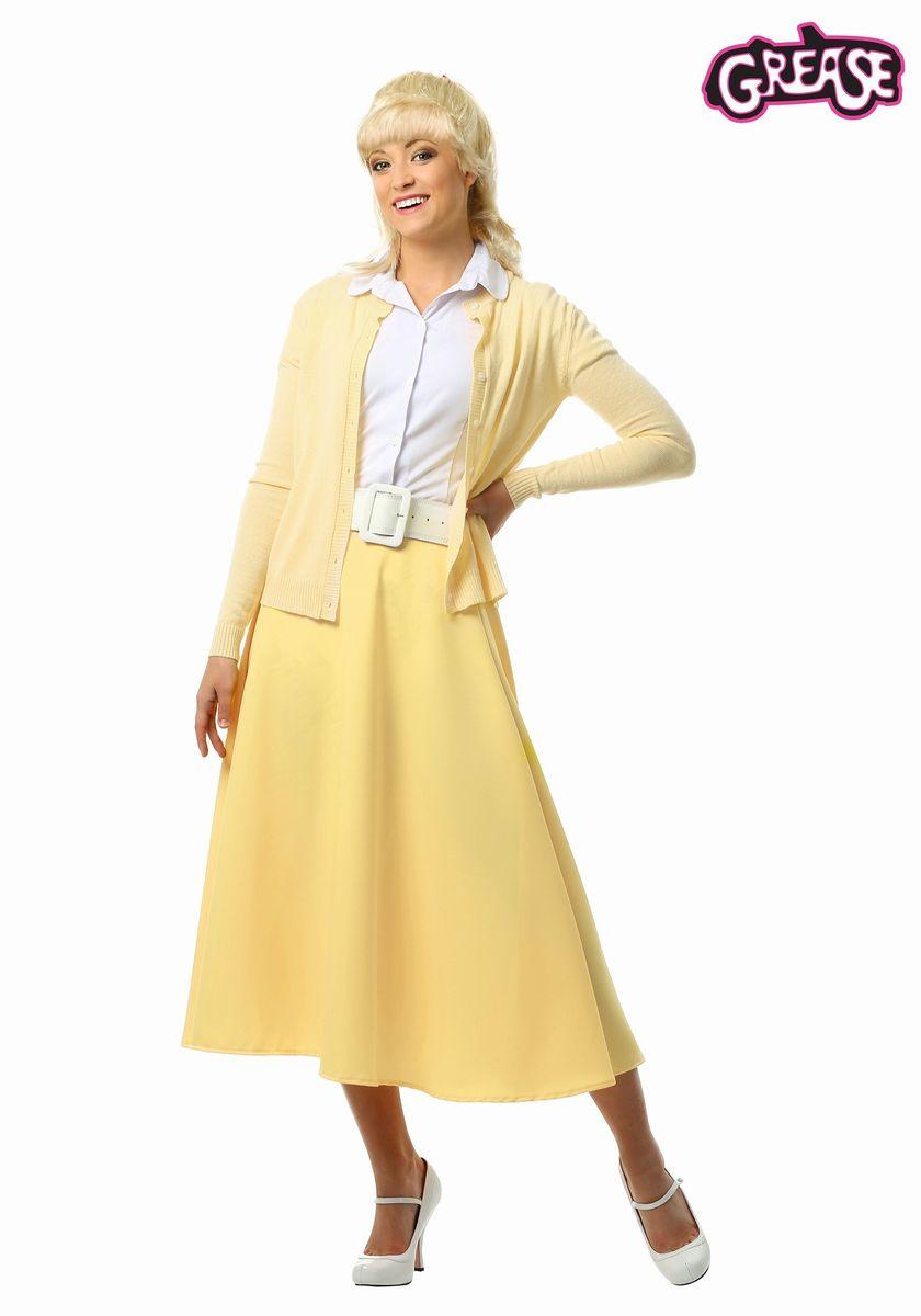 70年代 映画 グリース サンディ 衣装 コスプレ コスチューム 大人 レディース ハロウィン 仮装