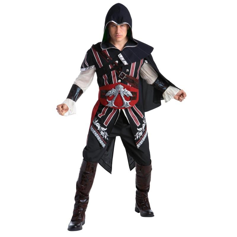 アサシン クリード コスプレ コスチューム エツィオ 大人 男性 メンズ ハロウィン 仮装 衣装