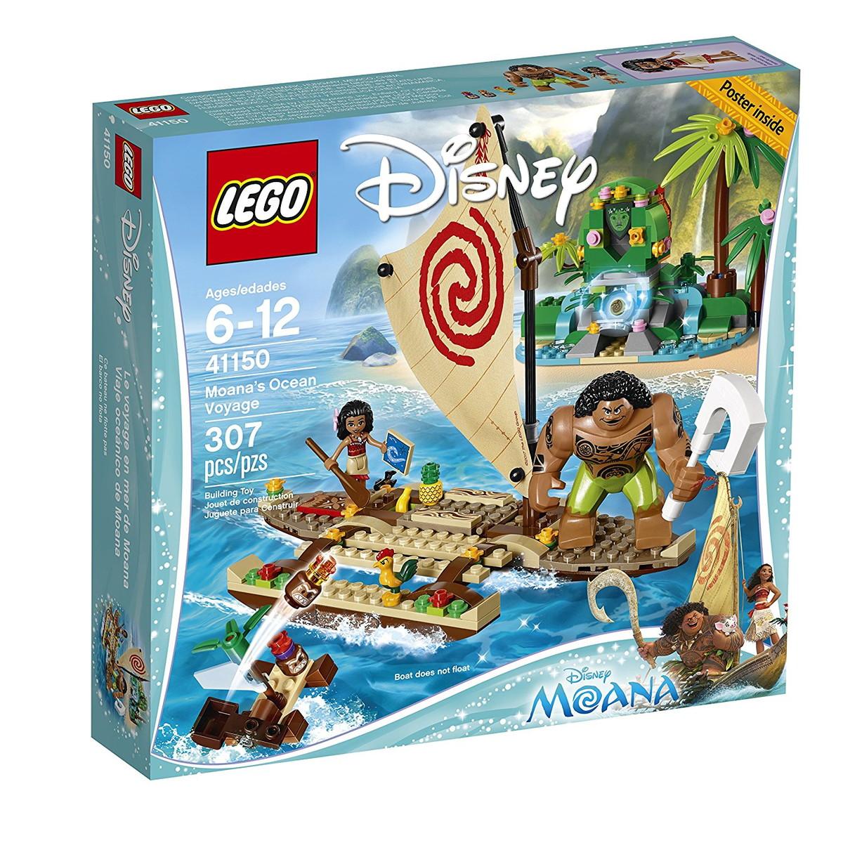 レゴ 海外版 モアナと伝説の海 307ピース グッズ ディズニー フィギュア おもちゃ