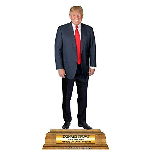 ドナルドトランプ 等身大パネル 45代目 記念 アメリカ 大統領 政治家 インテリア 置物 グッズ