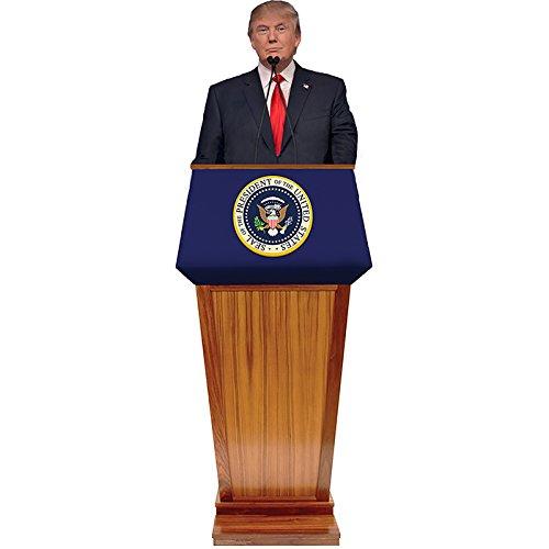 ドナルドトランプ 等身大パネル 演説 アメリカ 大統領 政治家 インテリア 置物 グッズ