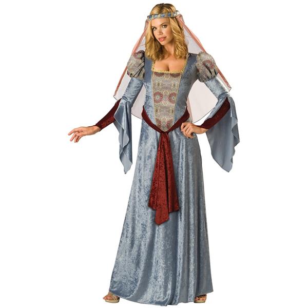 ルネサンス 衣装 コスチューム メイド マリアン ロビン・フッド 女性 ハロウィン コスプレ 大人 中世 ヨーロッパ