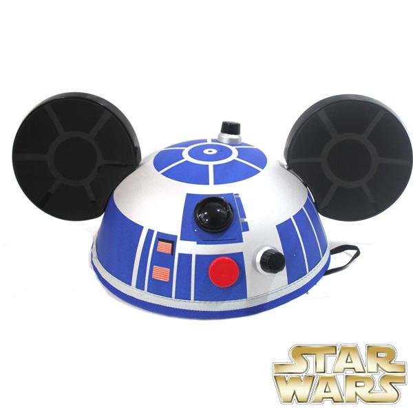 R2D2 スターウォーズ グッズ コスプレ ディズニー ミッキーハット