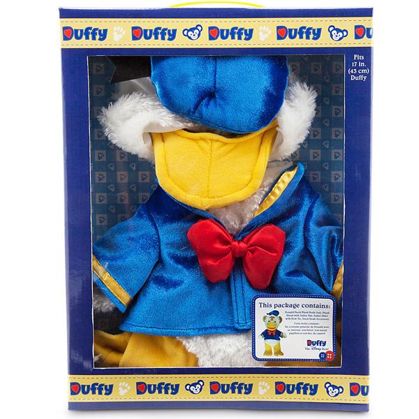 할로윈 ディズニーダッフィー Duffy 도널드 오리 코스튬 의상 17 인치 (약 43cm) 선물 선물