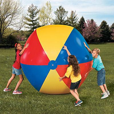 巨大 ビーチ ボール 183cm 野外 遊び ピクニック スポーツ イベント 幼稚園 保育園 学校 運動会