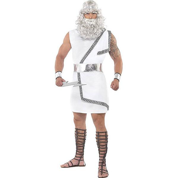 ギリシャ神話 ハロウィン コスプレ 衣装 ゼウス 大人用コスチューム
