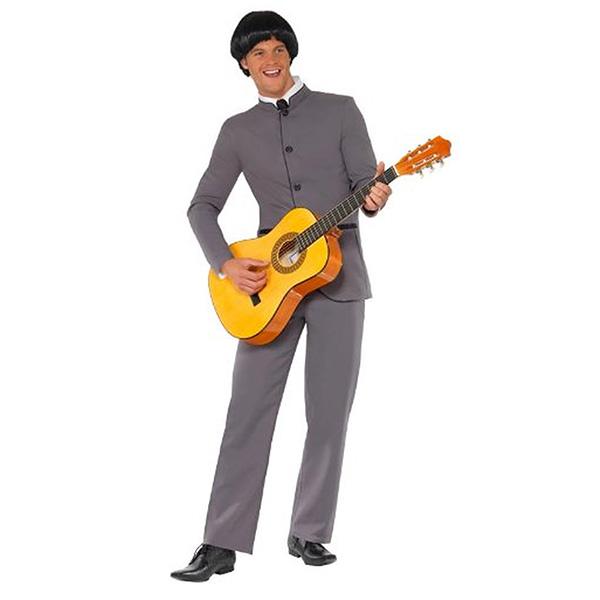 60年代 ビートルズ コスチューム 衣装 男性 大人用 ハロウィン 仮装 コスプレ