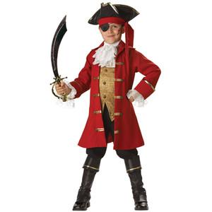 ハロウィン プレゼント パイレーツ コスチューム・キャプテン 海賊 子ども用 パイレーツ コスチューム