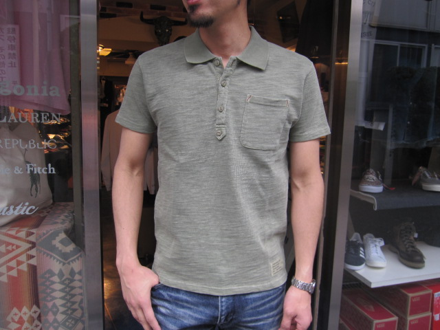 SMART SPICE (smart spice) PIGMENT DYED SLUB POLO SHIRTS (vintage tinted solid polo shirt) 05P28Sep16