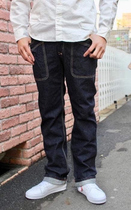 BLUE WAY(ブルーウェイ)6-POCKET DENIM WORK PANTS(6ポケット デニムワークパンツ ワンウォッシュ)カイハラ製 13.5oz国産デニム【日本製/送料無料】