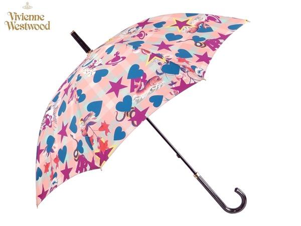 ヴィヴィアンウエストウッド Vivienne Westwood雨傘16,200円以上で送料無料 無料ラッピング指定可 明日楽対応商品 v0575 【 プレゼント ブランド オーブ 傘 長傘 新作 レディース 】