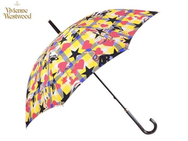 ヴィヴィアンウエストウッド Vivienne Westwood雨傘16,200円以上で送料無料 無料ラッピング指定可 明日楽対応商品 v0576 【 プレゼント ブランド オーブ 傘 長傘 新作 レディース 】