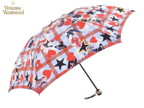 ヴィヴィアンウエストウッド Vivienne Westwood雨傘16,200円以上で送料無料 無料ラッピング指定可 明日楽対応商品 v0822 【 プレゼント ブランド オーブ 傘 三つ折り 新作 レディース 】