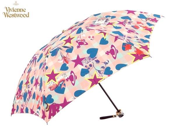 ヴィヴィアンウエストウッド Vivienne Westwood雨傘16,200円以上で送料無料 無料ラッピング指定可 明日楽対応商品 v0823 【 プレゼント ブランド オーブ 傘 三つ折り 新作 レディース 】