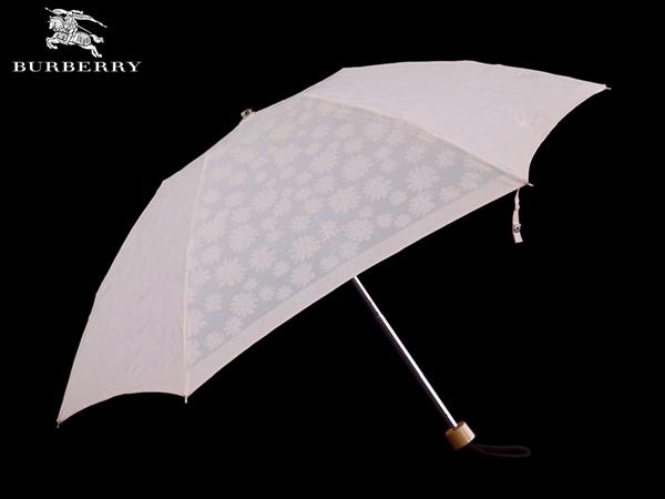 【訳あり品】【返品・交換不可】【汚れ有】バーバリー BURBERRY 晴雨兼用折畳傘 wa434