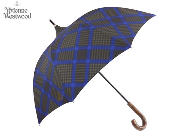 ヴィヴィアンウエストウッド Vivienne Westwood MAN メンズ雨傘16,200円以上で送料無料 無料ラッピング指定可 明日楽対応商品 v0973 【 プレゼント ブランド オーブ 新作 長傘 メンズ 紳士 】