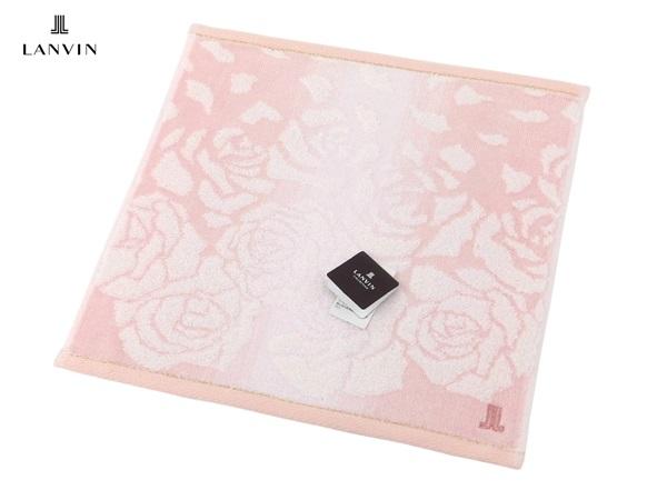 誕生日 お祝い ランバン タオルハンカチ LANVIN ハンカチ無料ラッピング指定可 明日楽対応商品 LV046 レディース 女性 日本製 プレゼント ギフト ブランド
