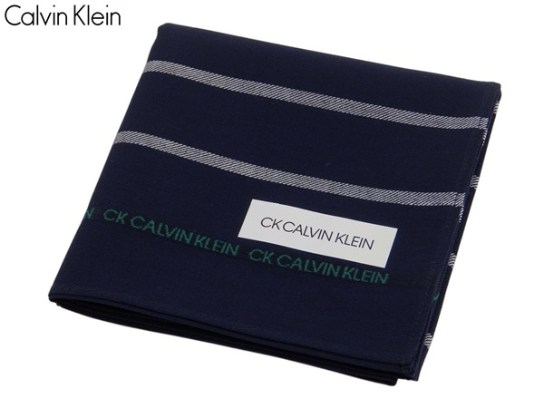 ギフトにお勧め カルバンクライン Calvin Klein ハンカチ無料ラッピング指定可 明日楽対応商品 プレゼント CK020 並行輸入品 ギフト 中古 メンズ ブランド