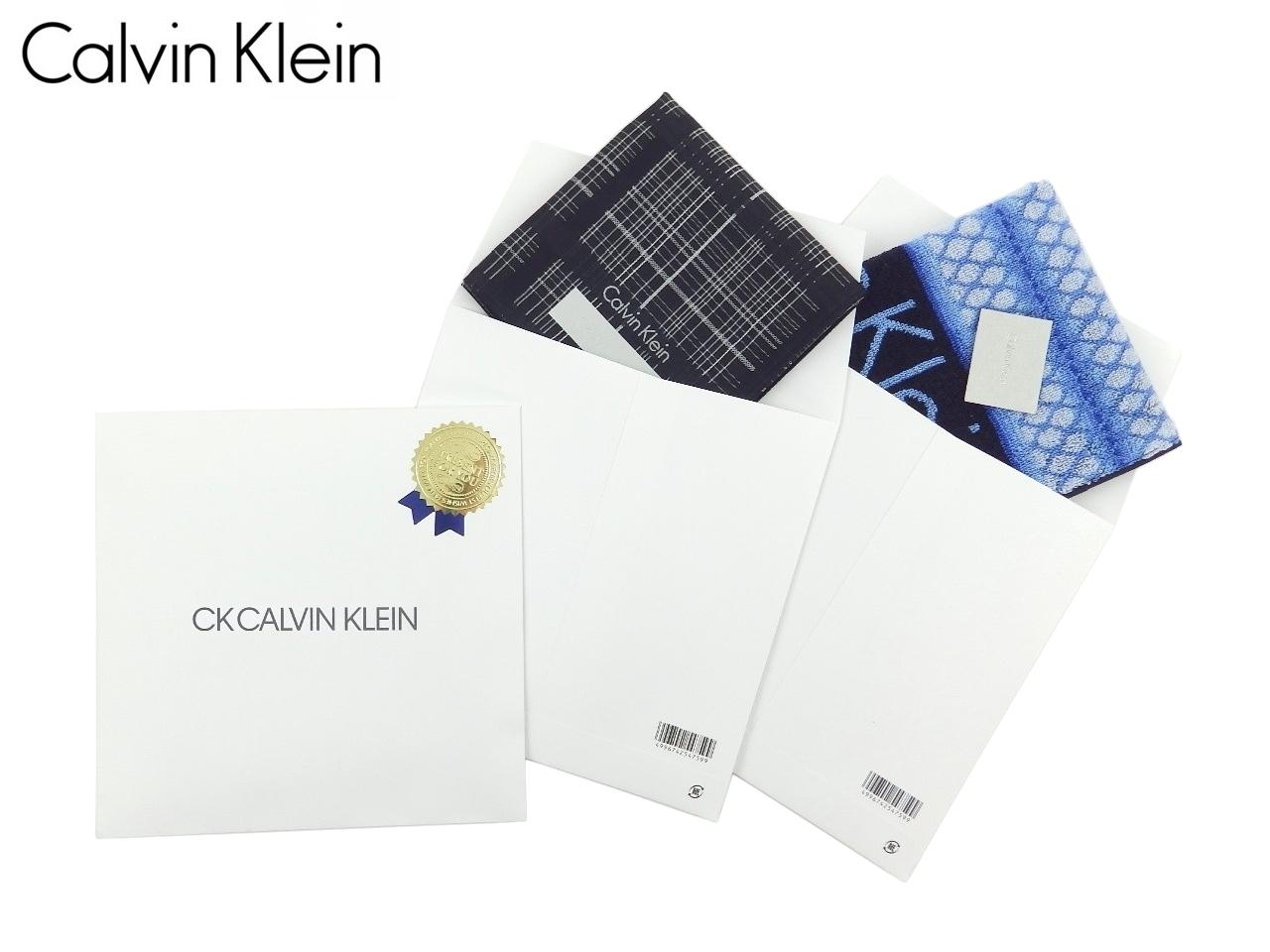 ご要望の多かった専用パッケージをご用意いたしました 数に限りがございますので売り切れの際はご容赦ください 激安通販専門店 カルバンクライン Calvin 単品ハンカチ同時購入限定 Klein専用パッケージ CK000 返品不可