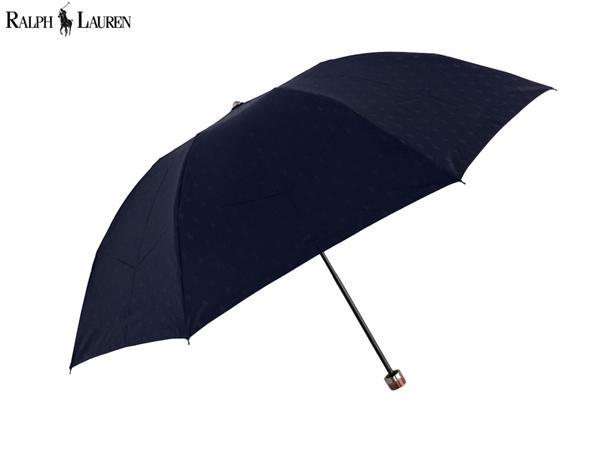 ポニー織柄 コンパクトな3つ折りタイプ ラルフローレン RALPH LAUREN 雨傘無料ラッピング指定可 明日楽対応商品 RL0427 新作 数量限定 ポニー ブランド ポロ 高い素材 メンズ 紳士 POLO プレゼント