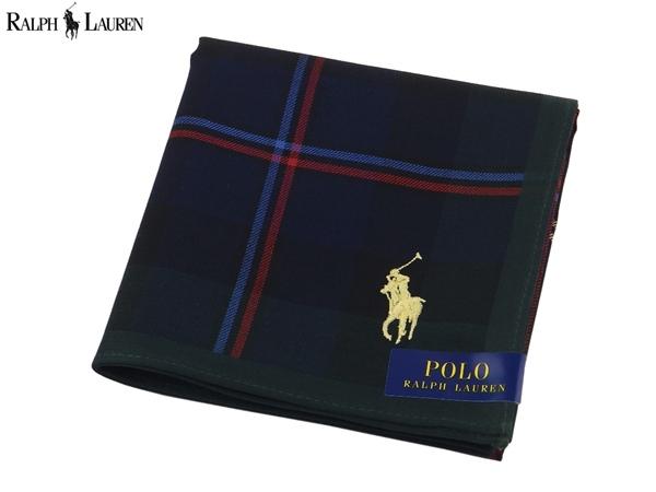 チェック柄にポニーの刺繍 ラルフローレン RALPH LAUREN ハンカチ無料ラッピング指定可 明日楽対応商品 予約販売 ブランド プレゼント ギフト RL0463 ポロ POLO 高品質