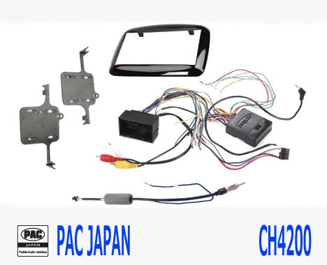 PAC コンプリートキット CH4200 2DIN AVインストールキット DODGE ダート