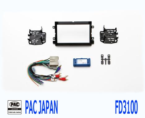 PAC コンプリートキット FD3100 2DIN AVインストールキット フォード エクスプローラー マスタング