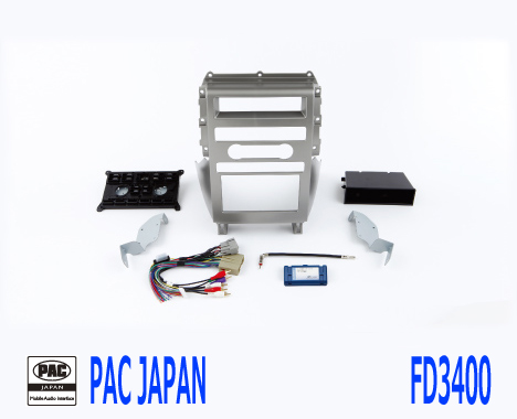 PAC コンプリートキット FD3400 2DIN AVインストールキット フォード FLEX