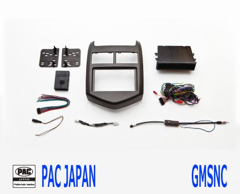 PAC コンプリートキット GMSNC 2DIN AVインストールキット シボレー ソニック