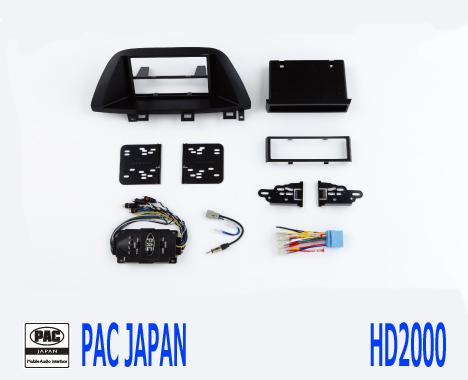 PAC コンプリートキット HD2000 2DIN AVインストールキット USホンダ オデッセイ