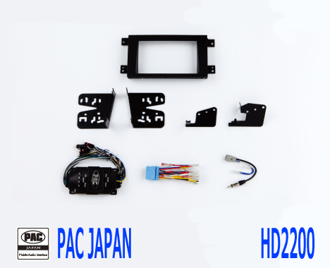 PAC コンプリートキット HD2200 2DIN AVインストールキット USホンダ リッジライン