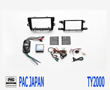 PAC コンプリートキット TY2000 2DIN AVインストールキット USトヨタ プリウス