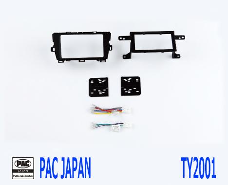 PAC コンプリートキット TY2001 2DIN AVインストールキット USトヨタ プリウス