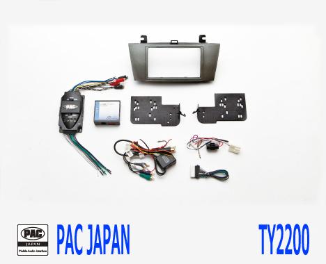 PAC コンプリートキット TY2200 2DIN AVインストールキット USトヨタ ソラーラ