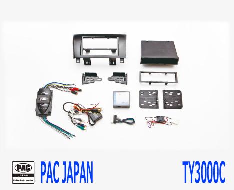 PAC コンプリートキット TY3000C 2DIN AVインストールキット USトヨタ タンドラ セコイヤ