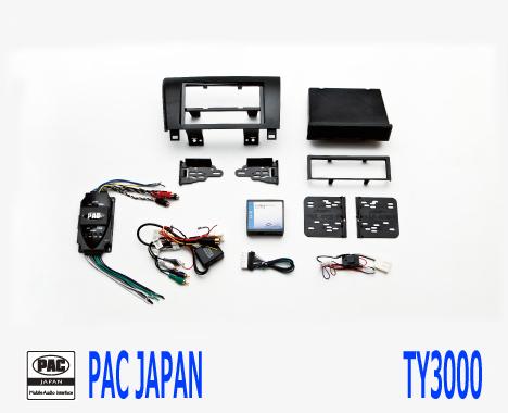 PAC コンプリートキット TY3000 2DIN AVインストールキット USトヨタ タンドラ セコイヤ