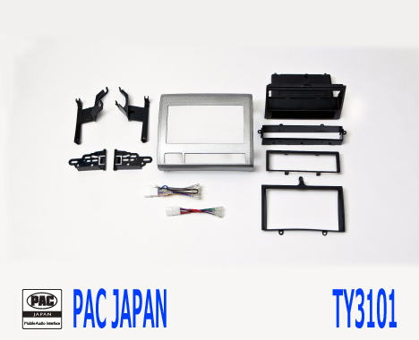 PAC コンプリートキット TY3101 2DIN AVインストールキット USトヨタ タコマ