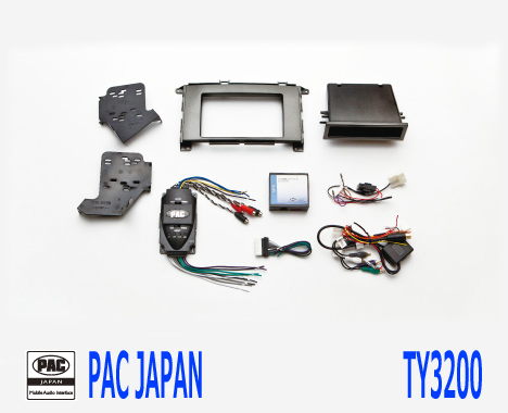 PAC コンプリートキット TY3200 2DIN AVインストールキット USトヨタ シエナ