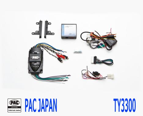 PAC コンプリートキット TY3300 2DIN AVインストールキット USトヨタ FJクルーザー