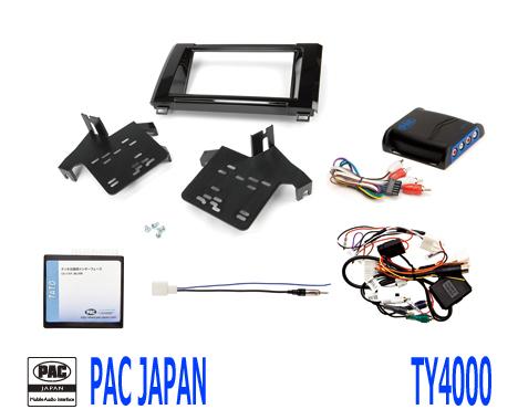 PAC コンプリートキット TY4000 2DIN AVインストールキット USトヨタ タンドラ
