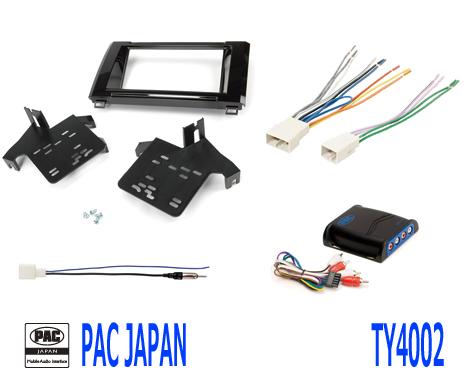 PAC コンプリートキット TY4002 2DIN AVインストールキット USトヨタ タンドラ