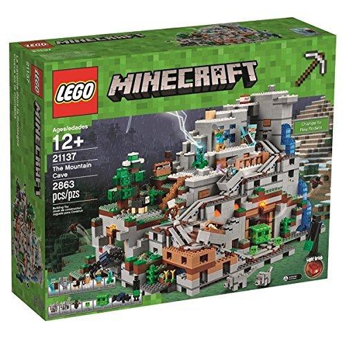【日本未発売】LEGO Minecraft マインクラフト 山の洞窟 The Mountain Cave 21137